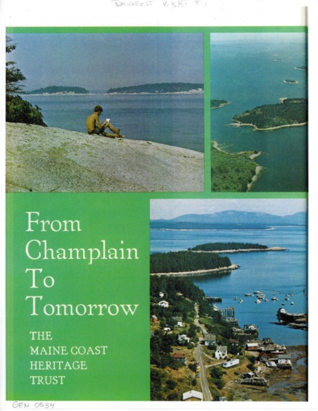 From Champlain to Tomorrow