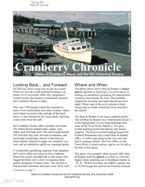 Cranberry Chronicle