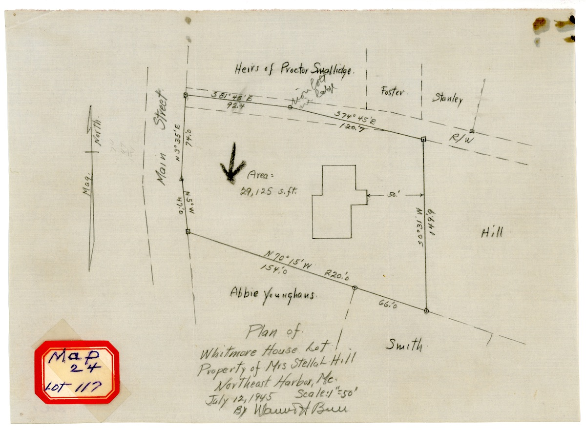 Plan of Whitmore House Lot