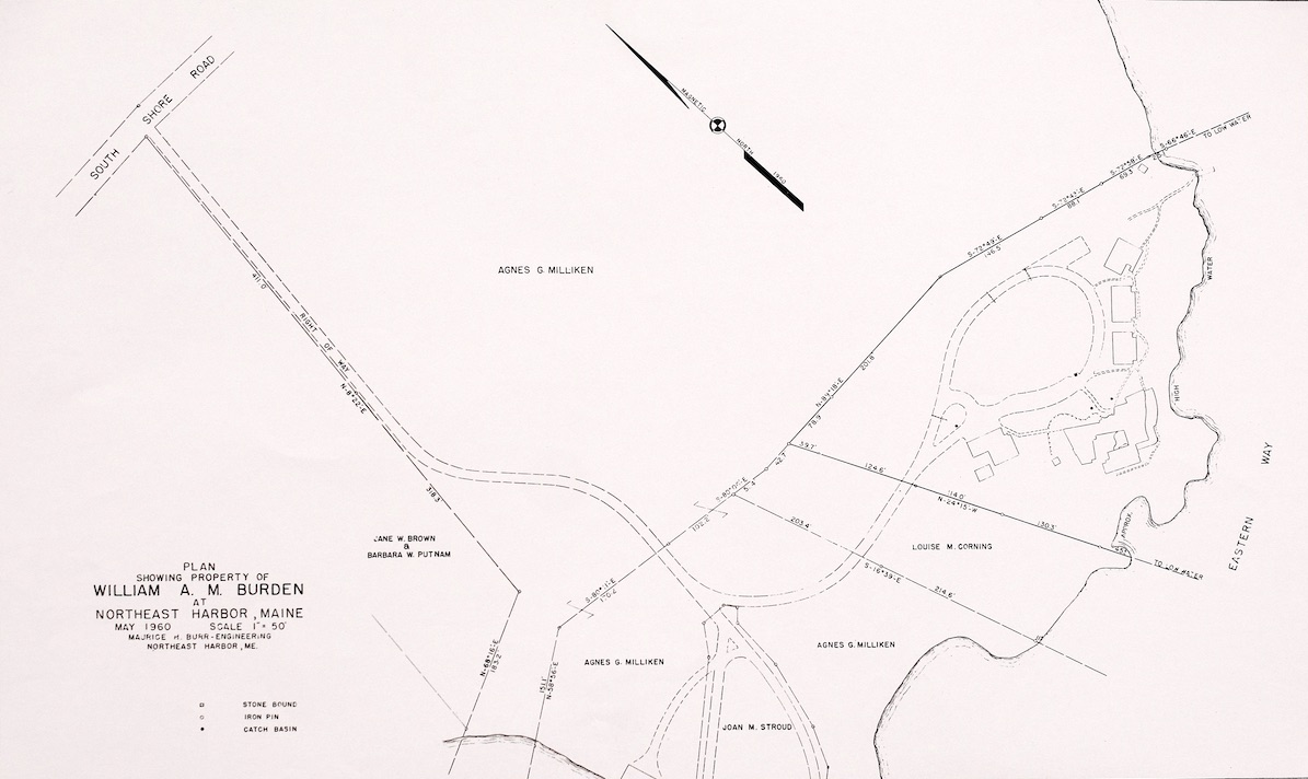 Plan of Property of William A. M. Burden