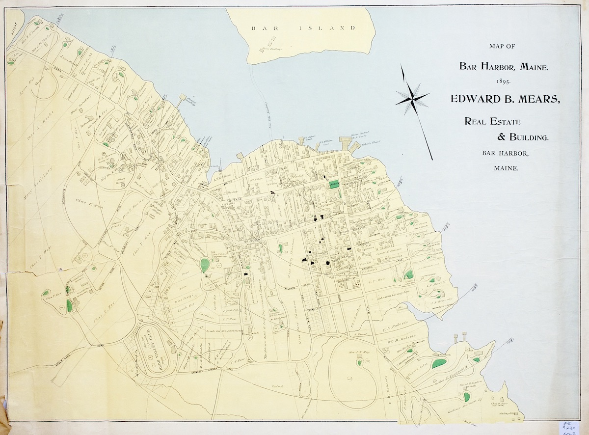 Map of Bar Harbor