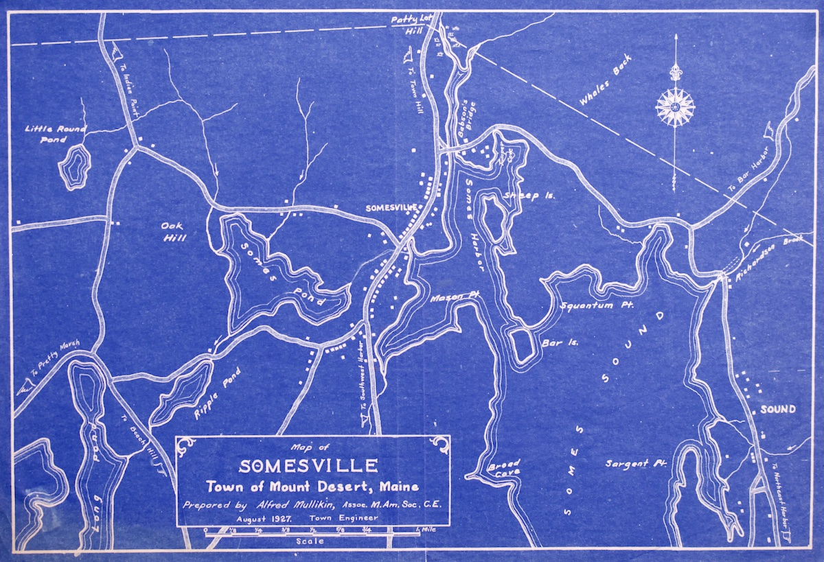 Map of Somesville