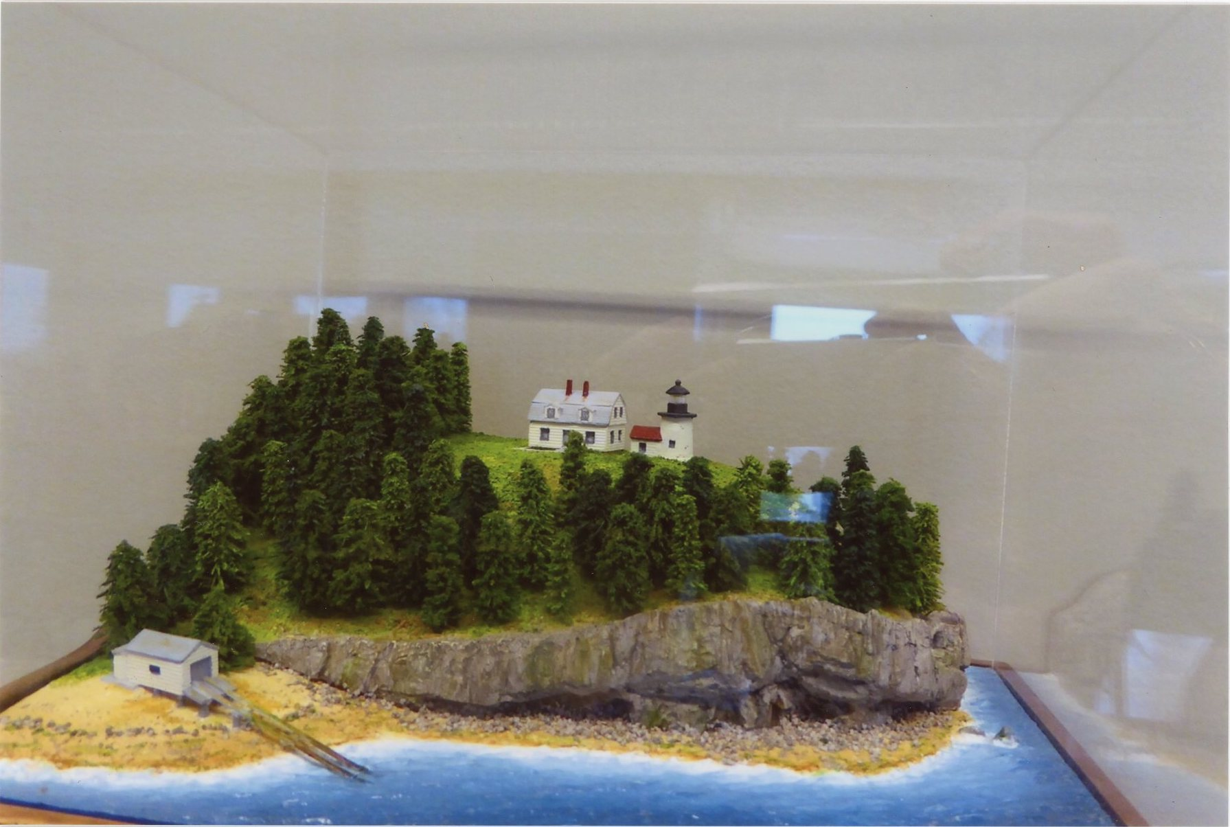 Bear Island Light, model