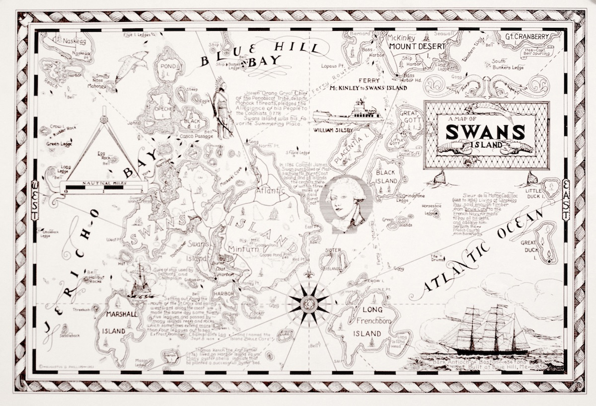 A Map of Swans Island