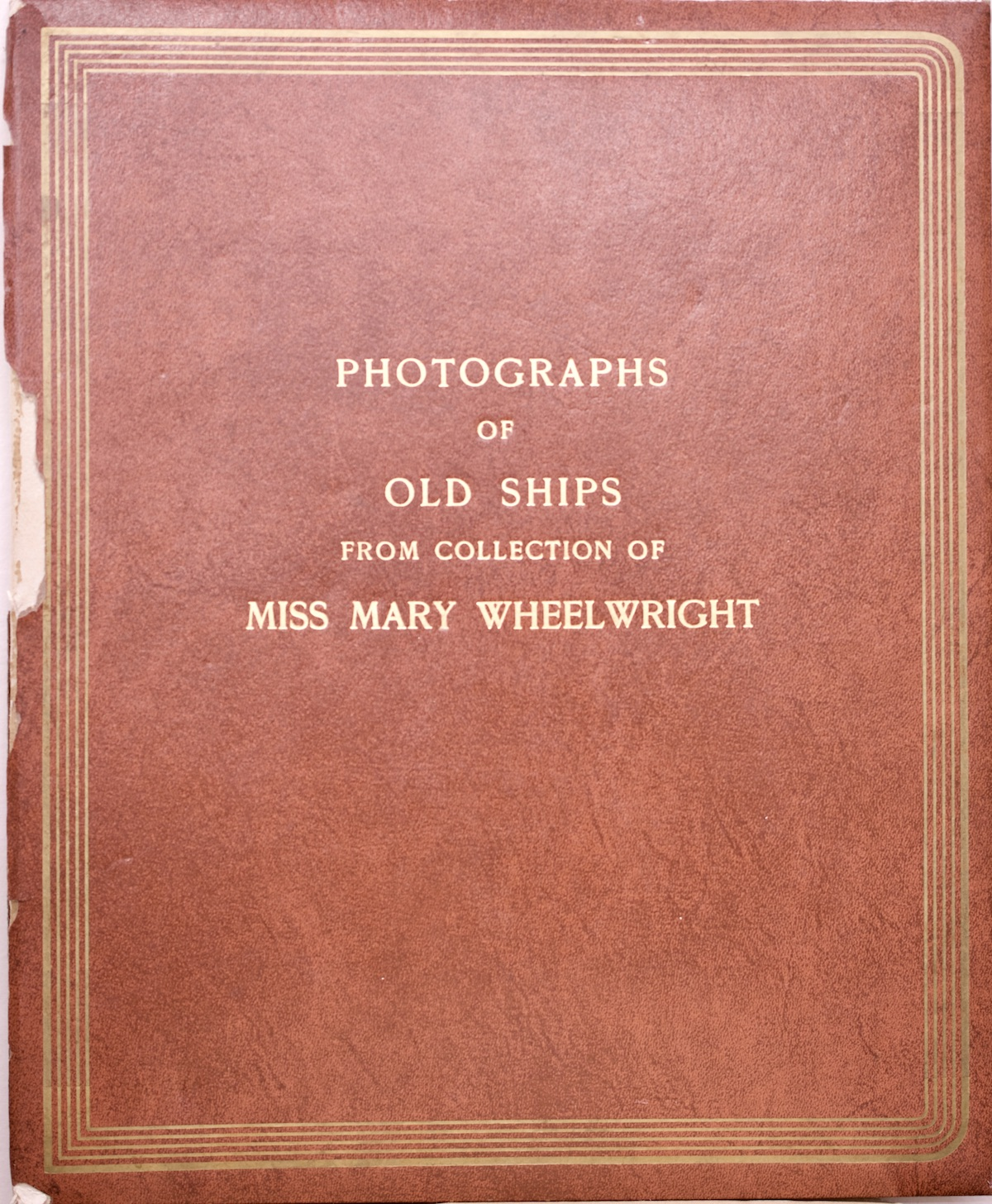 Mary Cabot Wheelwright Scrapbook