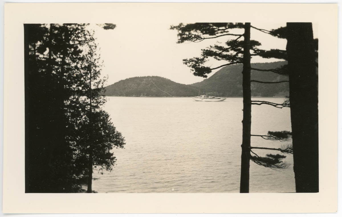 View of Somes Sound from Bodine Property