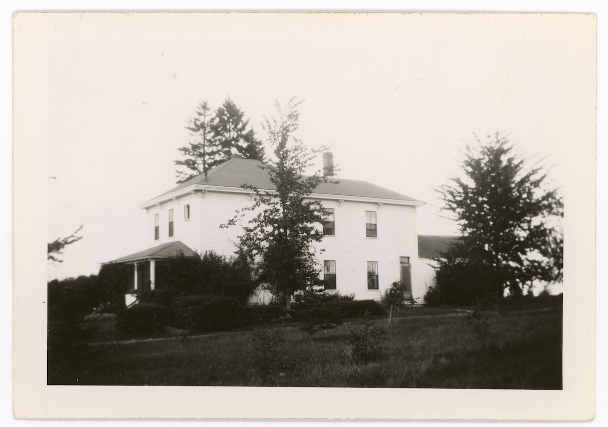 Tripp Farm house, West Eden