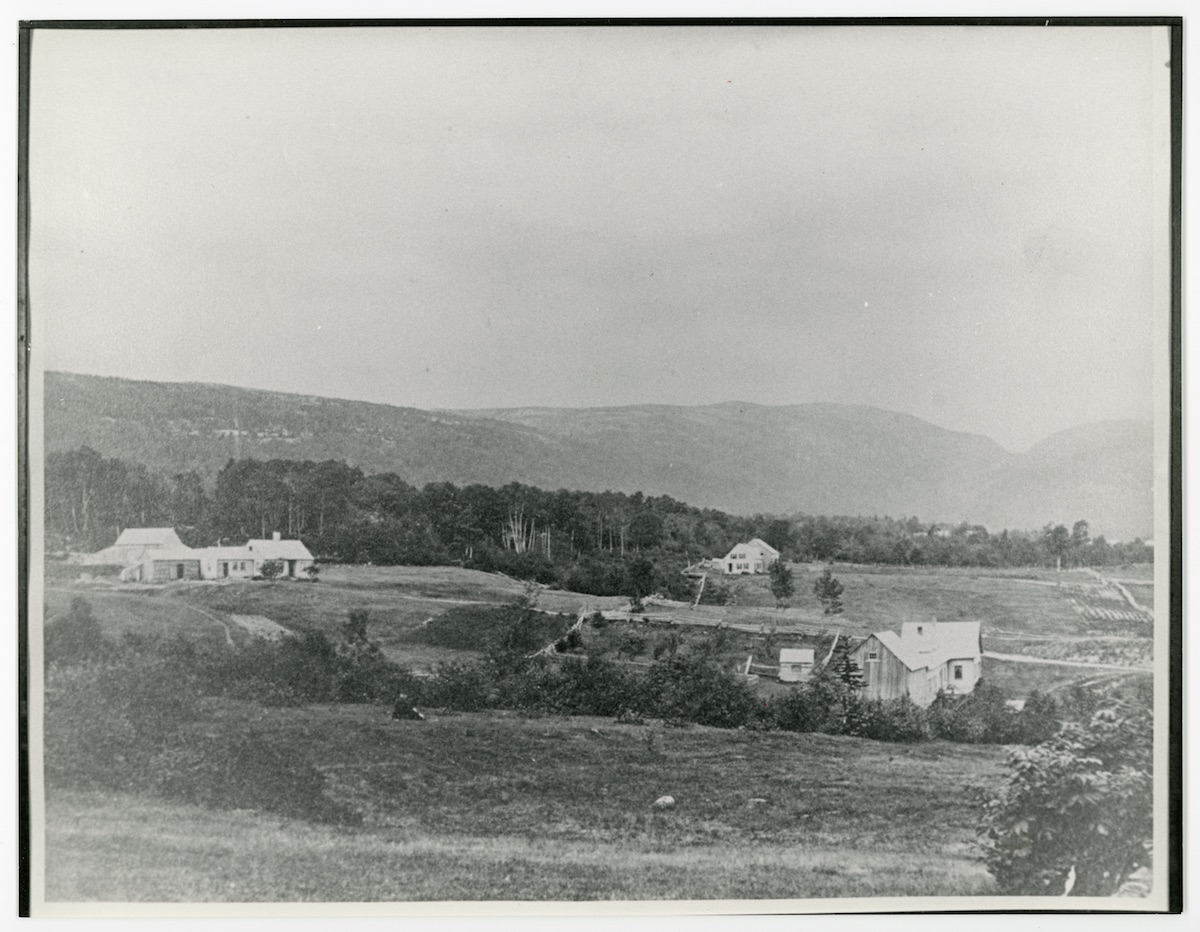 Otter Creek in late 1800's