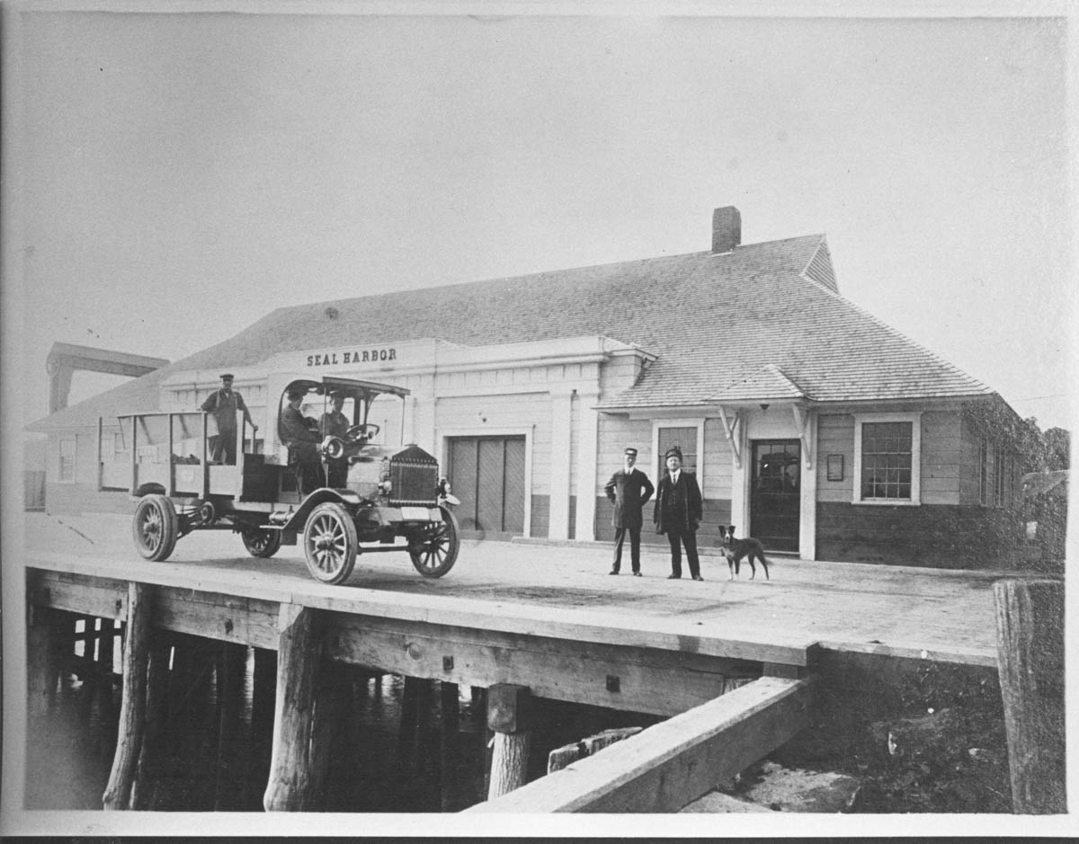 Steamboat Dock, Seal Harbor (Eastern Steamship Co.)