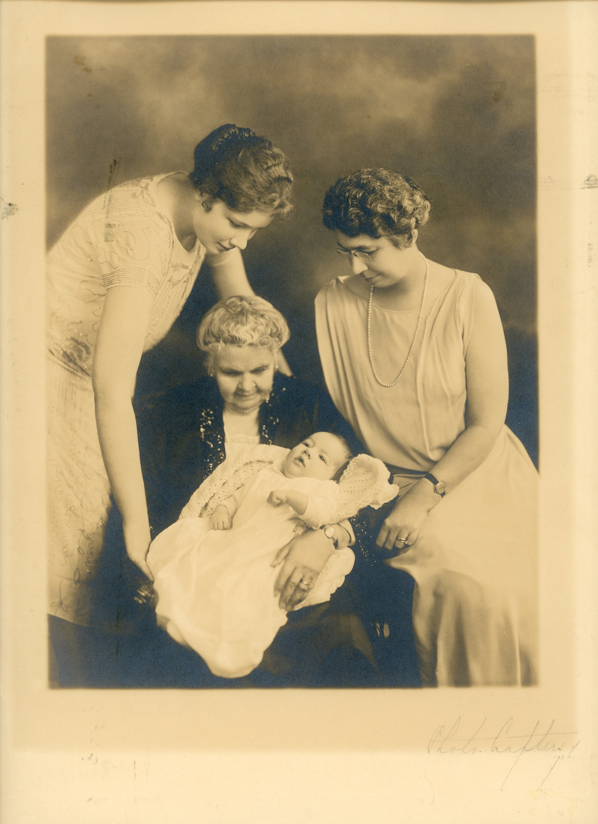 Four generations of Robert R. Pyle's family