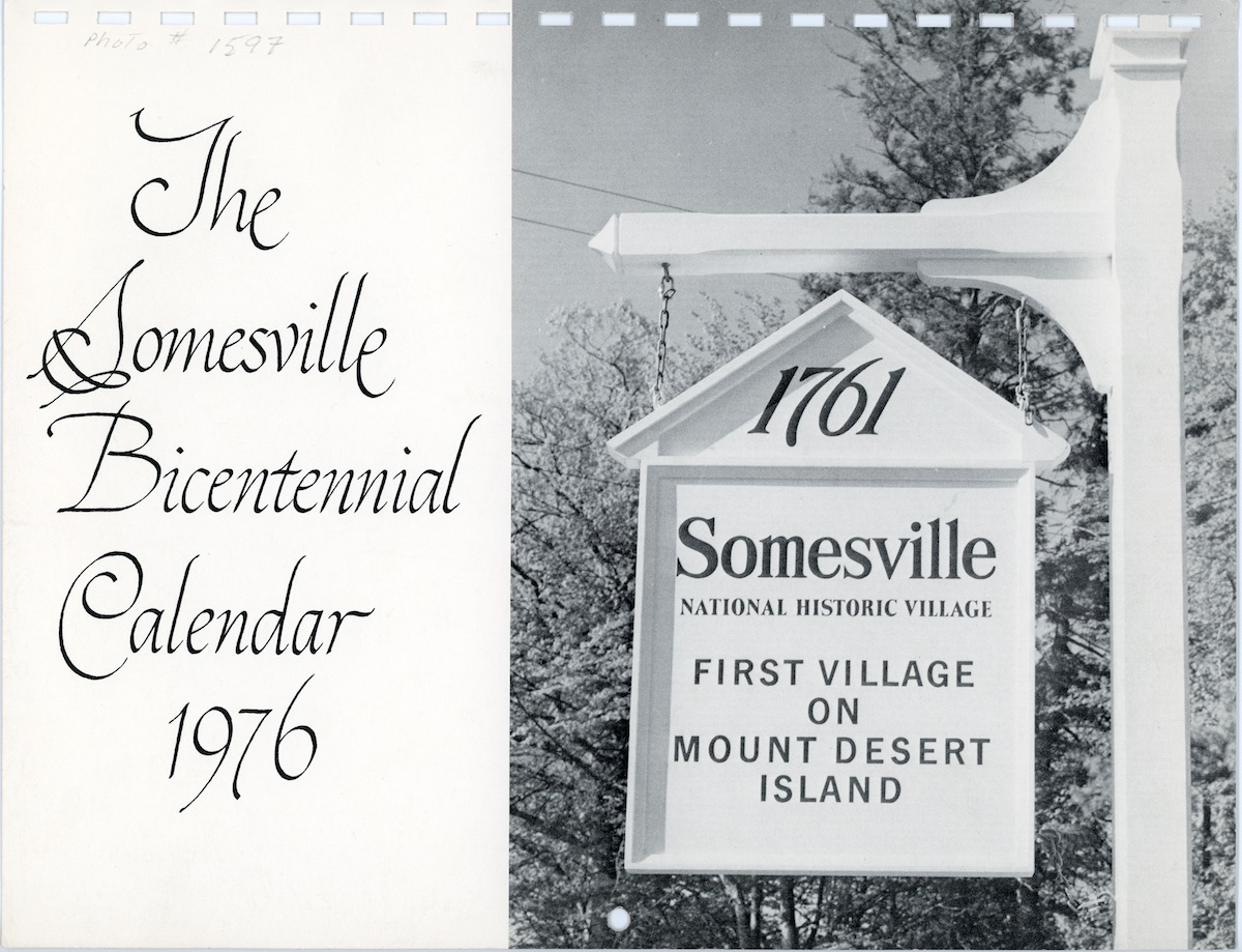 The Somesville Bicentennial Calendar