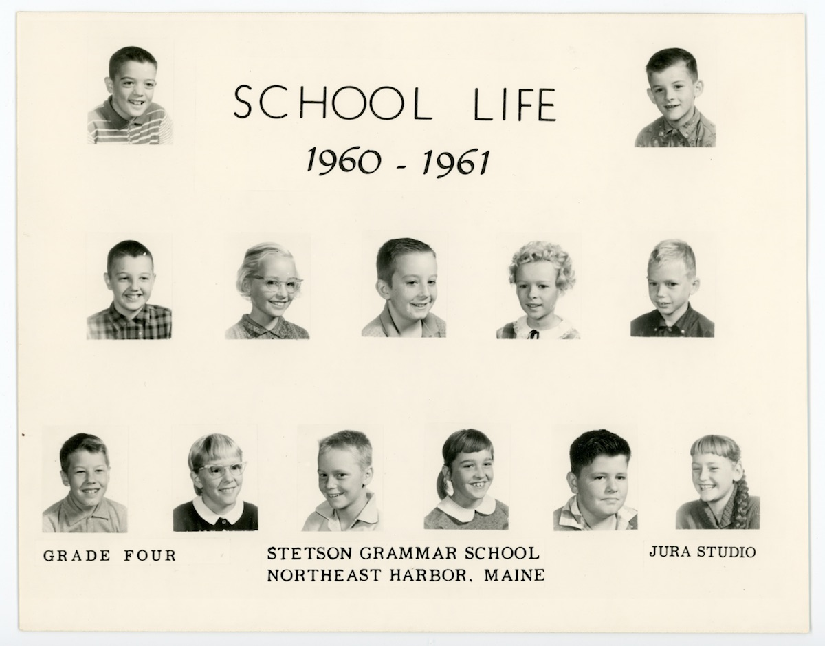 Stetson School Grade Four (4th Grade), 1960-61
