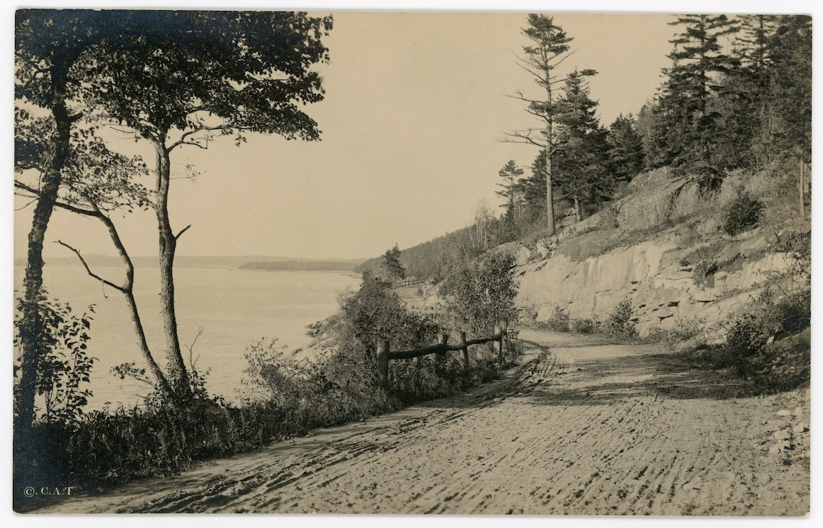 Sargeant Drive and Somes Sound, Mount Desert, ME
