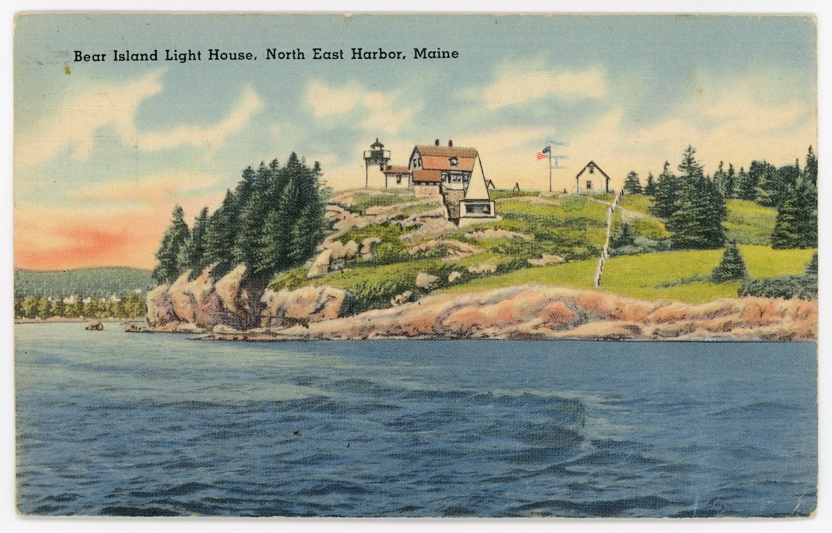 Bear Island Lighthouse, Northeast Harbor, Maine