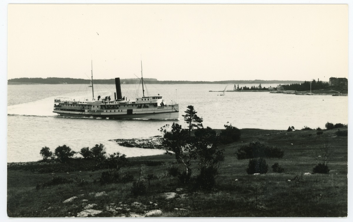 Steamer FRANK JONES, Mount Desert Island