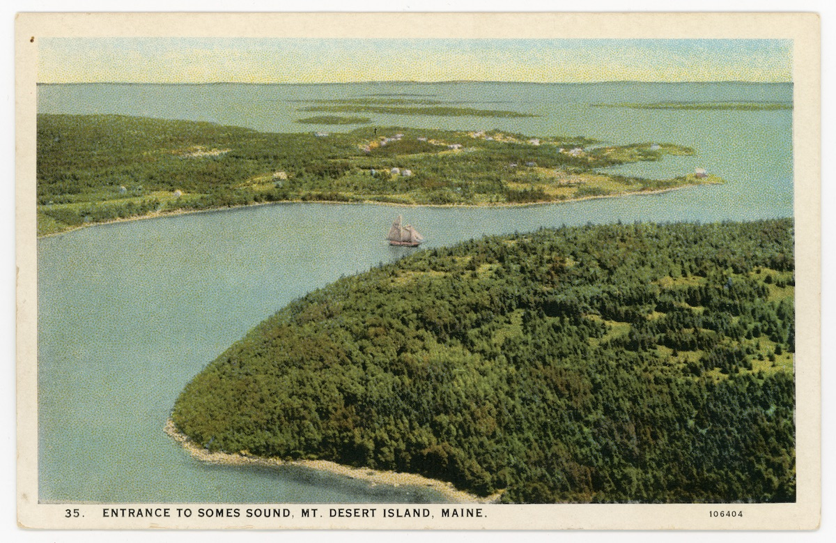 Entrance to Somes Sound, Mount Desert Island, Maine