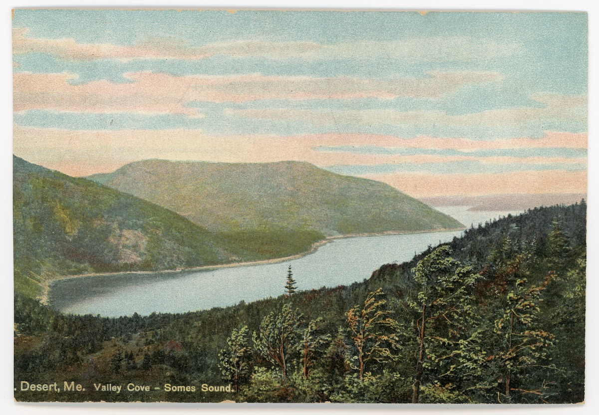 Mount Desert, ME Valley Cove - Somes Sound