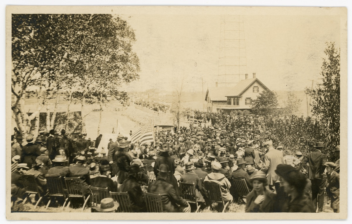 Dedication of the Trenton Bridge