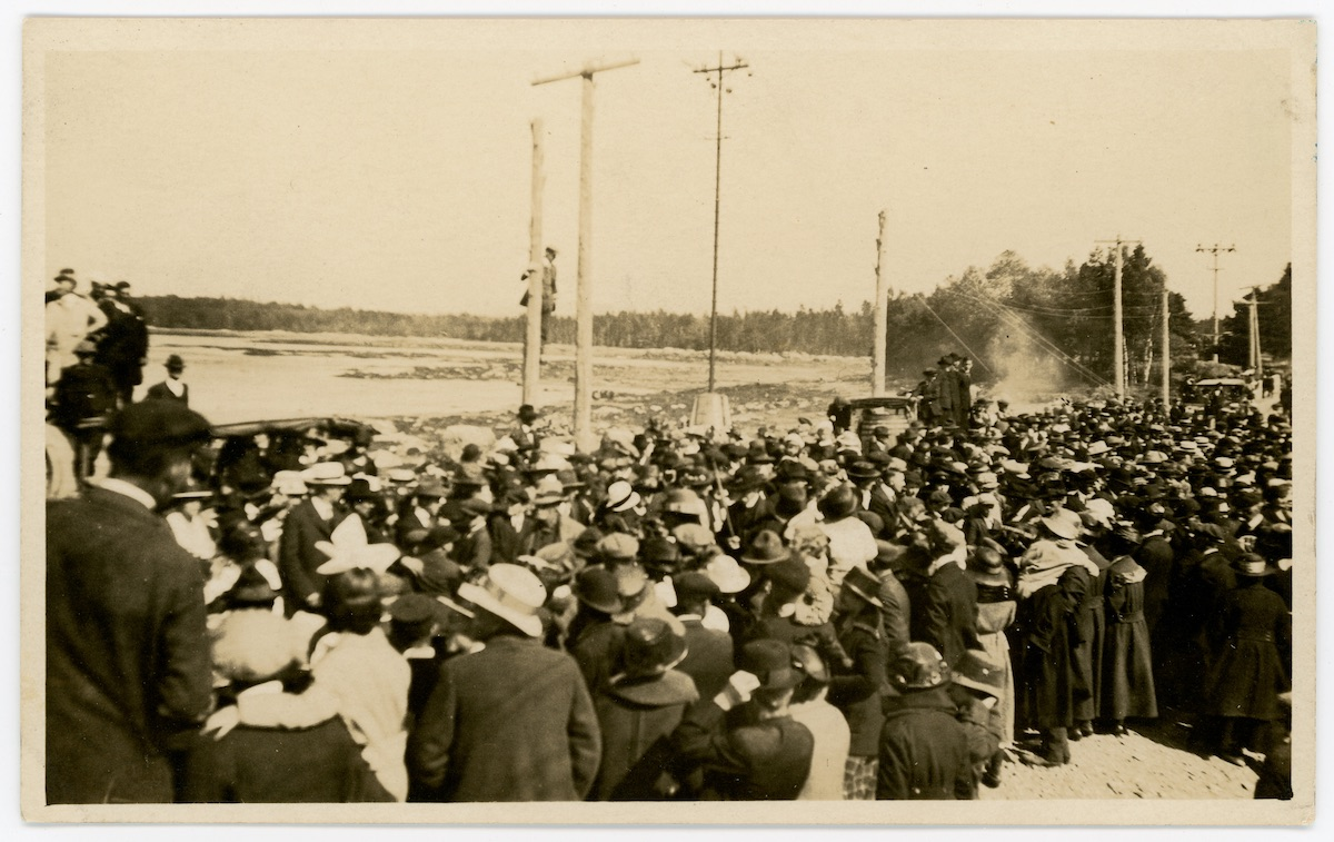 Dedication of Trenton Bridge
